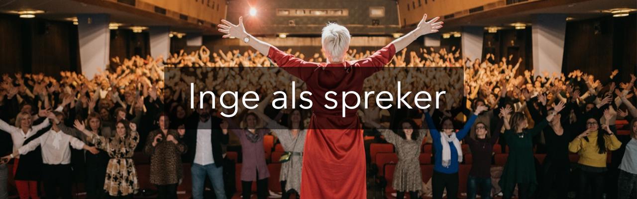 Boek Inge als spreker